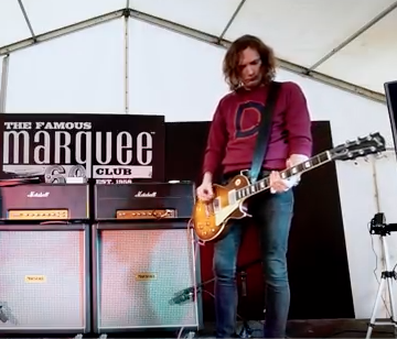 Dan Hawkins at The Guitar Show UK!
