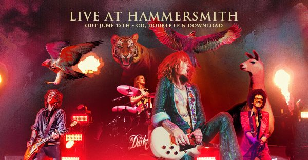 Pre Order 'The Darkness LIVE at Hammersmith' out June 15!