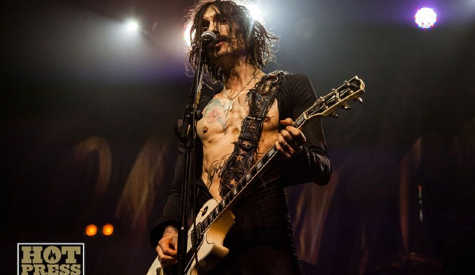 Justin Hawkins interview with Pat Carty on Hot Press!