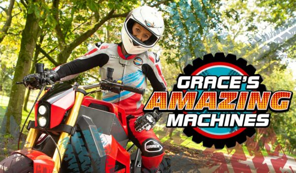 Grace's Amazing Machines: New series featuring new The Darkness tunes begins October 5th!