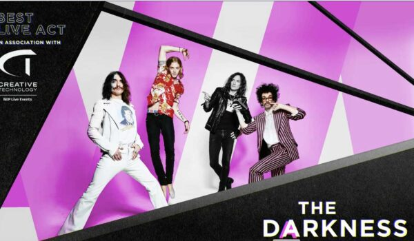 The Darkness Nominated 'Best Live Act' at the AIM Awards 2020!